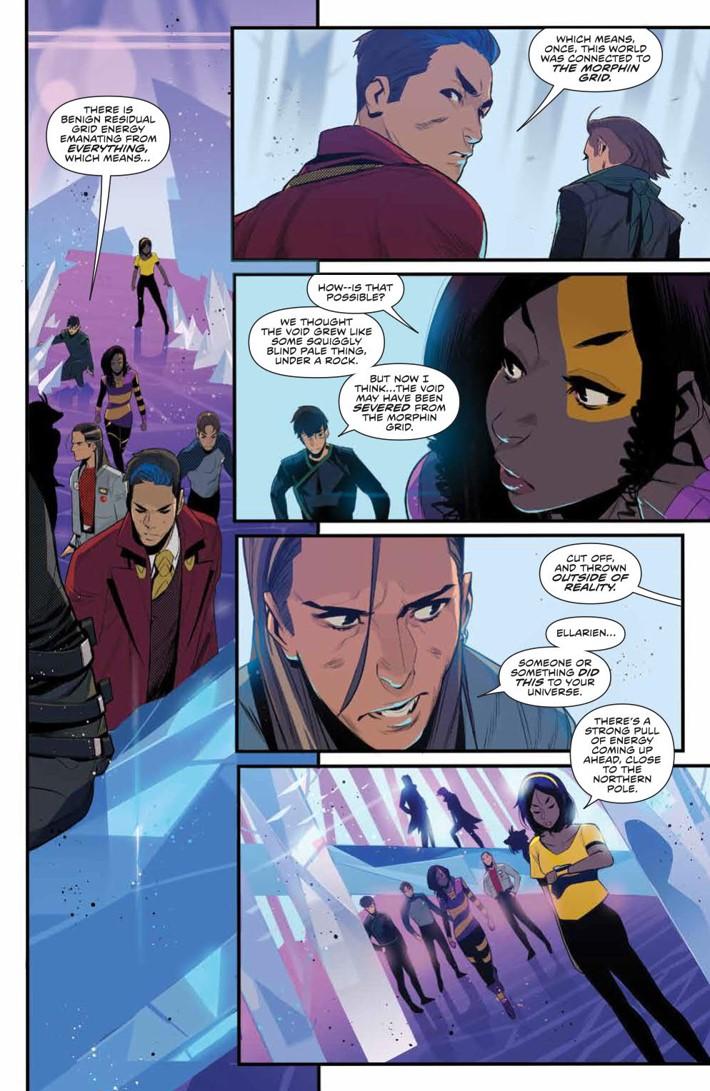 PowerRangers_037_PRESS_4 ComicList Previews: MIGHTY MORPHIN POWER RANGERS #37