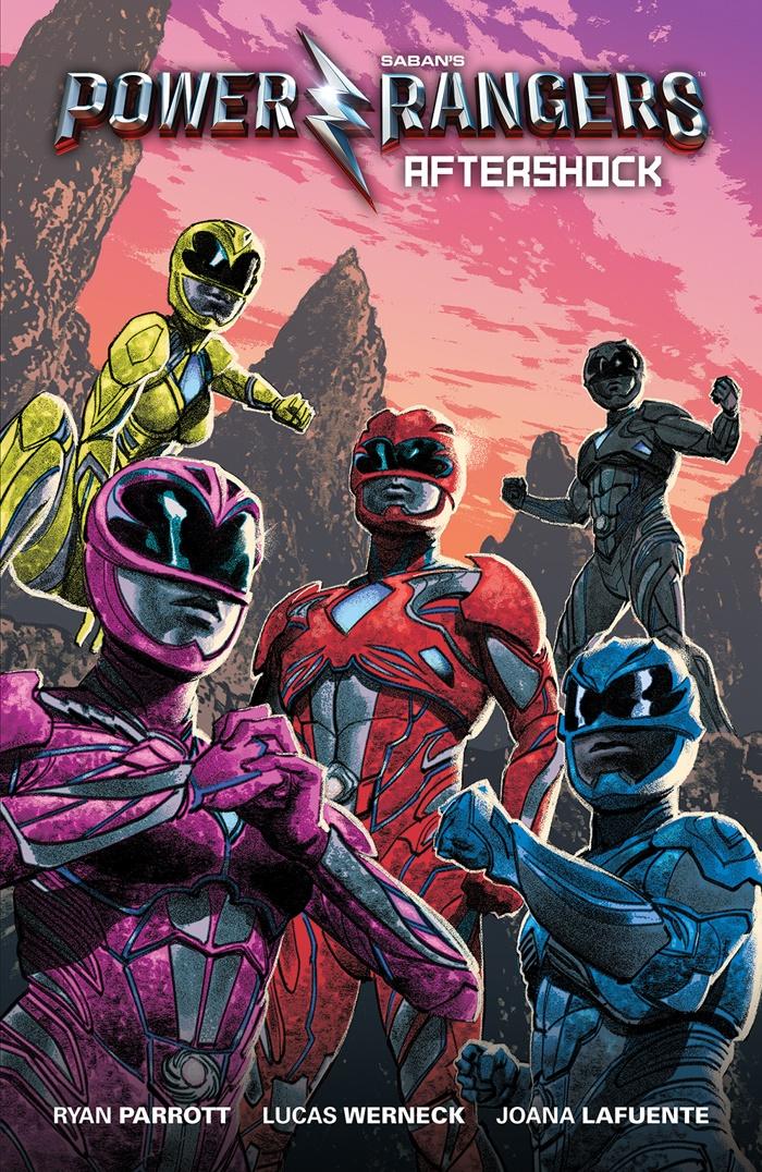 PowerRangers_Aftershock_TP_B_DirectMarket ComicList Preview: SABAN'S POWER RANGERS AFTERSHOCK GN