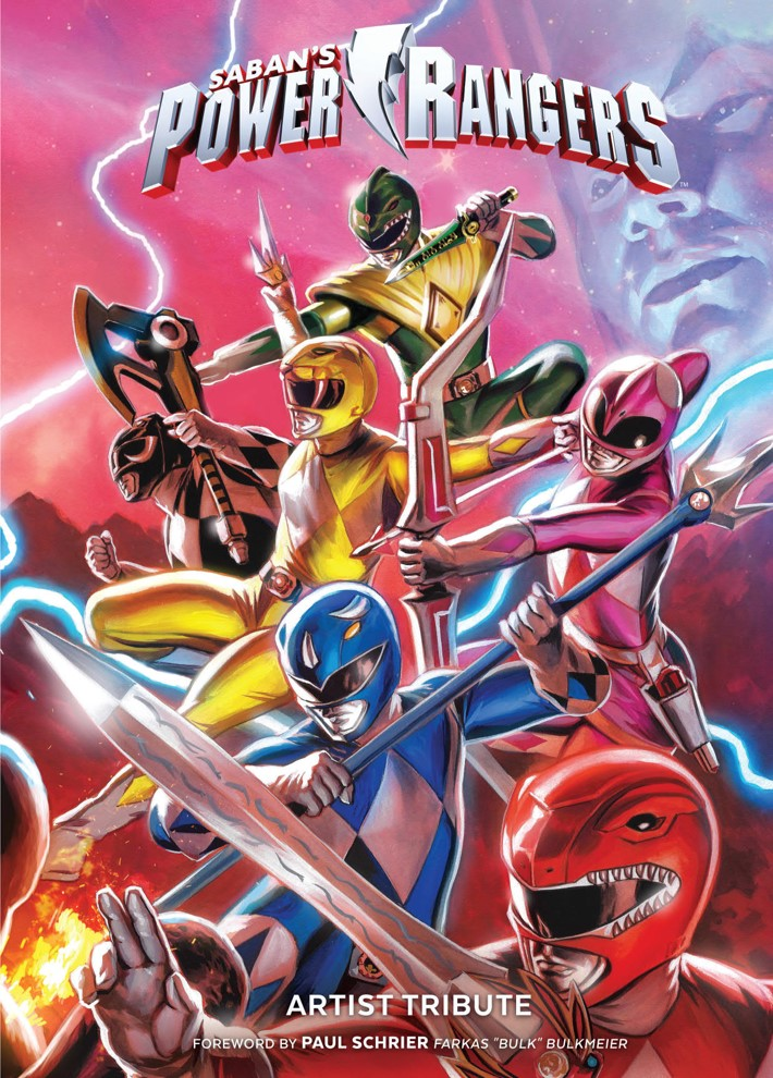 PowerRangers_ArtistTribute_HC_PRESS_1 ComicList Previews: SABAN'S POWER RANGERS ARTIST TRIBUTE HC