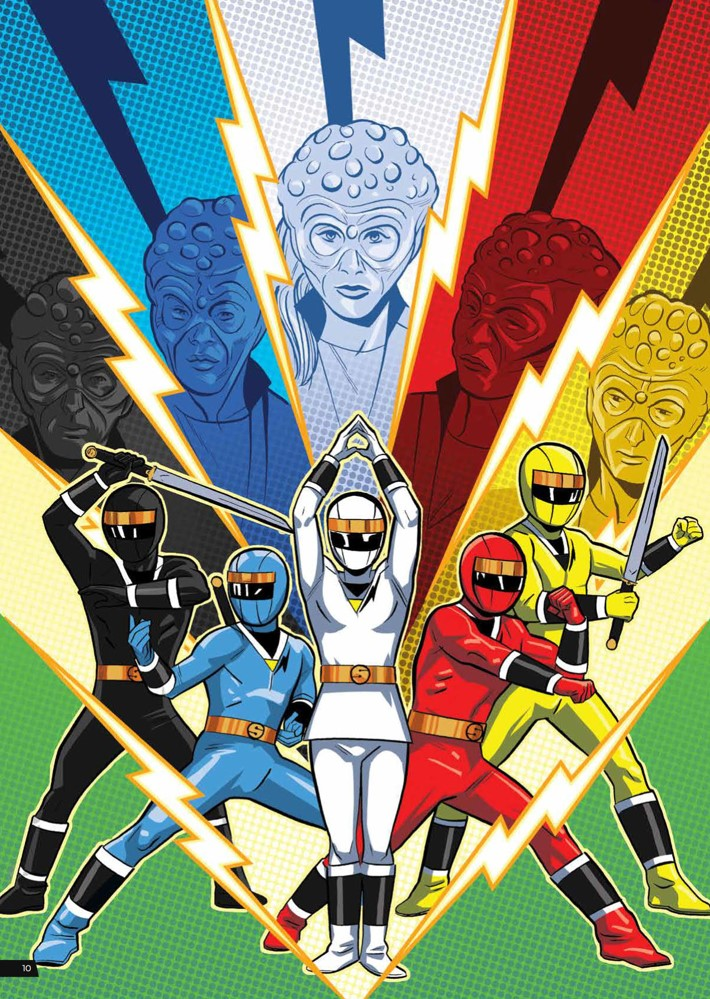 PowerRangers_ArtistTribute_HC_PRESS_12 ComicList Previews: SABAN'S POWER RANGERS ARTIST TRIBUTE HC