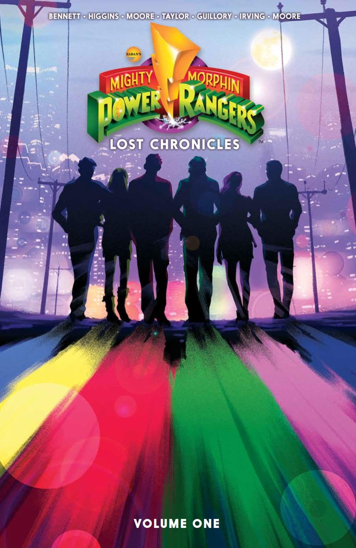 PowerRangers_LostChronicles_v1_SC_PRESS_1 ComicList Previews: MIGHTY MORPHIN POWER RANGERS LOST CHRONICLES VOLUME 1 TP