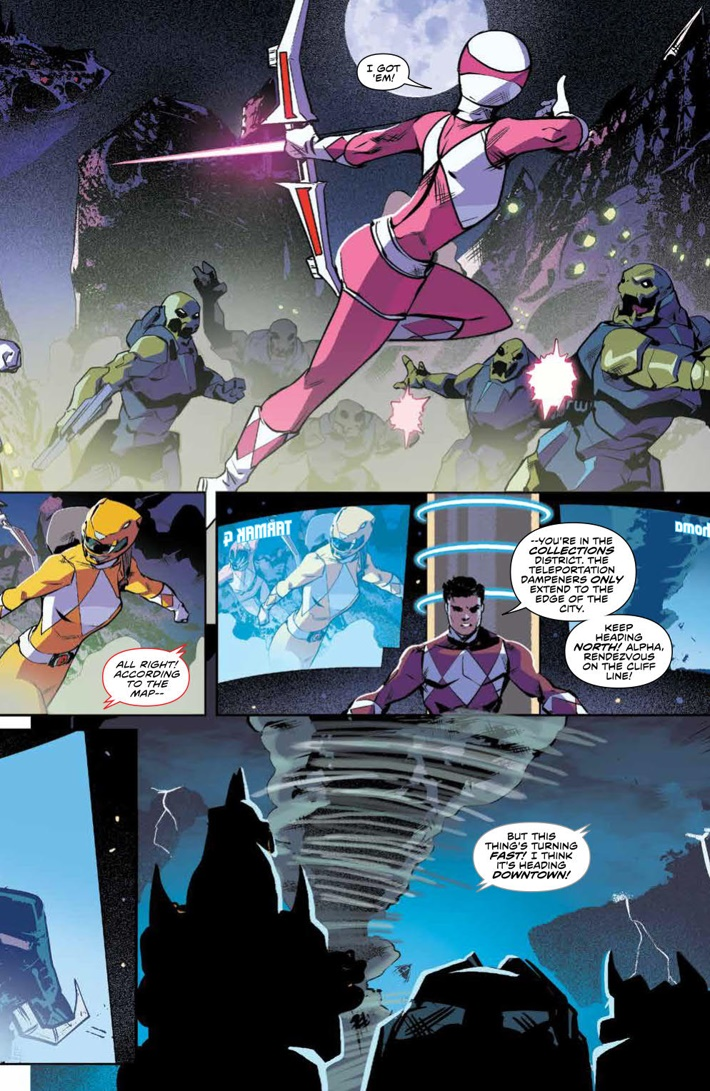 PowerRangers_v5_SC_PRESS_11 ComicList Previews: MIGHTY MORPHIN POWER RANGERS VOLUME 5 TP