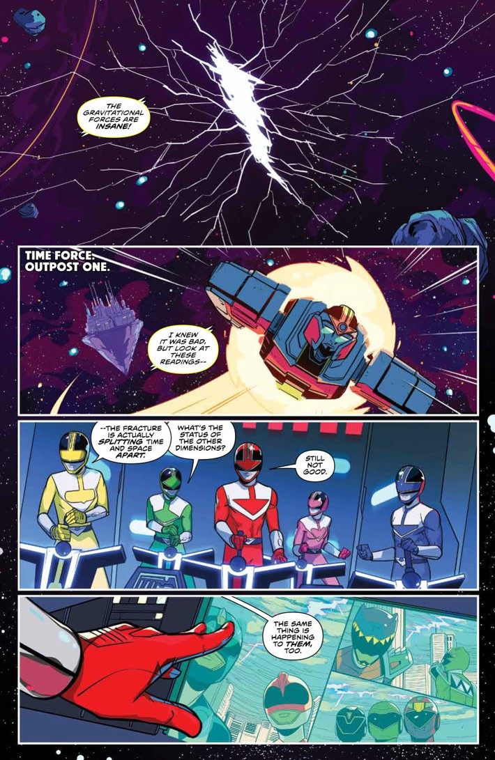 PowerRangers_v7_SC_PRESS_7 ComicList Previews: MIGHTY MORPHIN POWER RANGERS VOLUME 7 TP