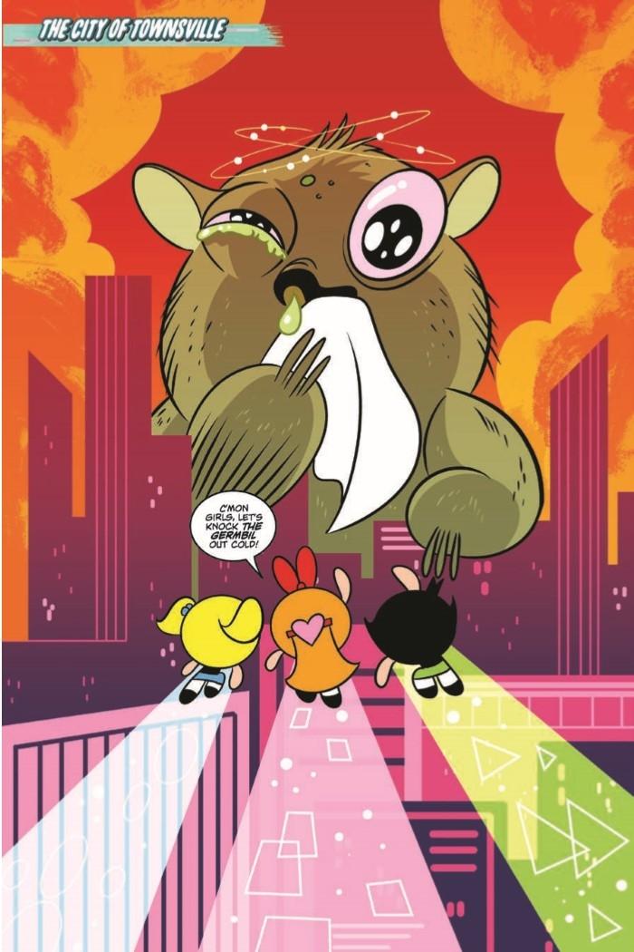 PowerpuffGirls_v2_PowerUpMojo-pr-3 ComicList Preview: POWERPUFF GIRLS POWER UP MY MOJO HC