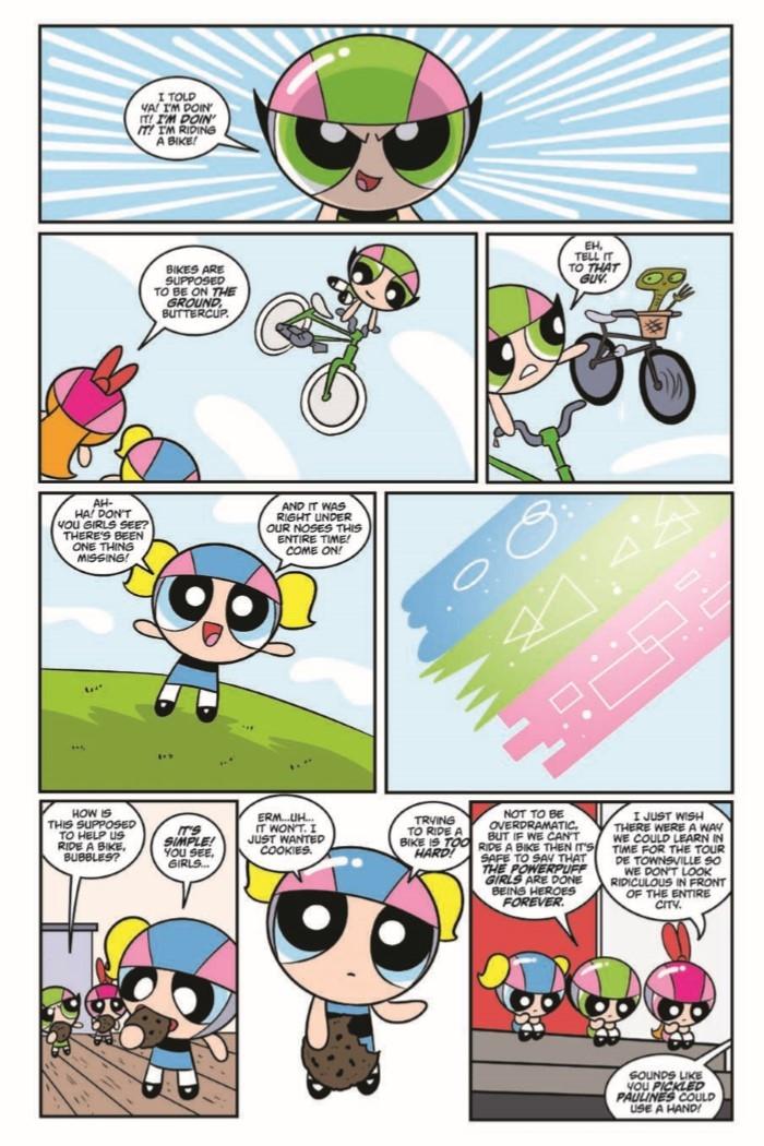 PowerpuffGirls_v2_PowerUpMojo-pr-7 ComicList Preview: POWERPUFF GIRLS POWER UP MY MOJO HC