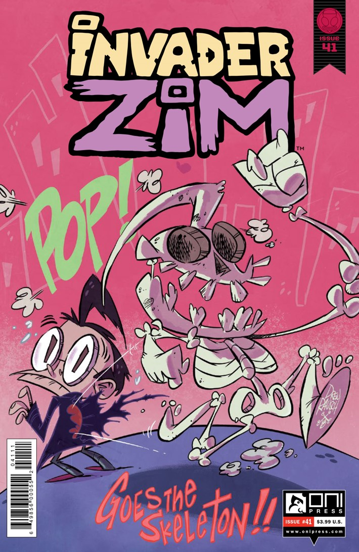 Preview-INVADERZIM-41-REFERENCE-1 ComicList Previews: INVADER ZIM #41