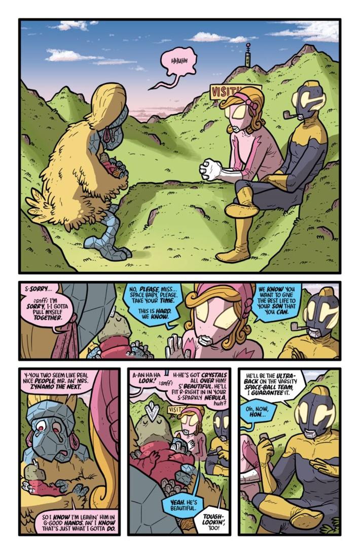Preview-Pages-KAIJUMAXV4-4-2 ComicList Previews: KAIJUMAX SEASON FOUR #4