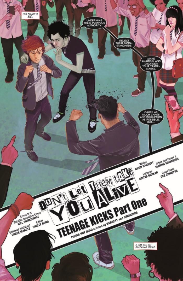 PunksNotDead_01-pr-4 ComicList Previews: PUNKS NOT DEAD #1