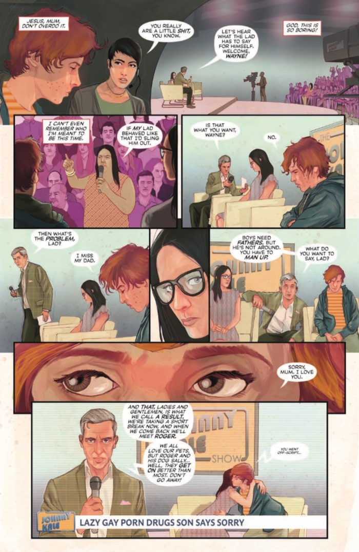 PunksNotDead_01-pr-7 ComicList Previews: PUNKS NOT DEAD #1