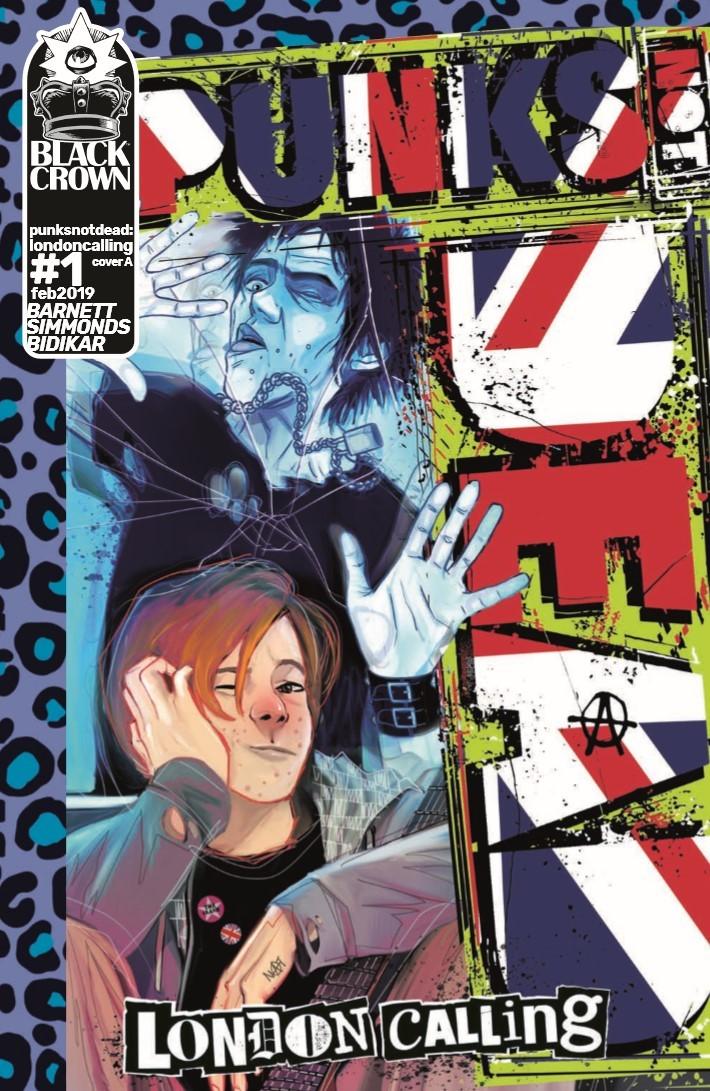 Punks_Not_Dead_London_Calling_01-pr-1 ComicList Previews: PUNKS NOT DEAD LONDON CALLING #1