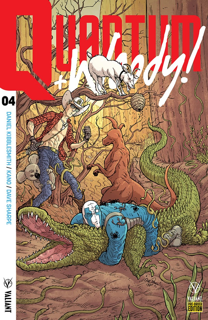 QW2017_004_PRE-ORDER_PITARRA ComicList Previews: QUANTUM AND WOODY! (2017) #4