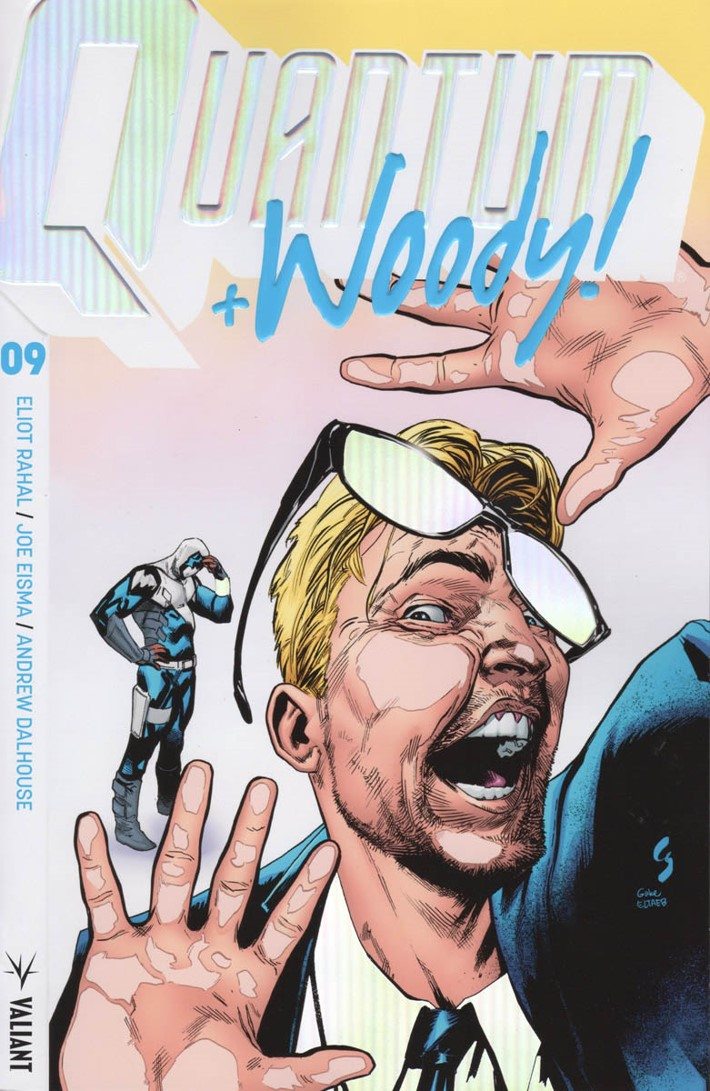 QW2017_009_COVER-B-(EXTREME-ULTRA-FOIL)_SHAW ComicList Previews: QUANTUM AND WOODY! (2017) #9