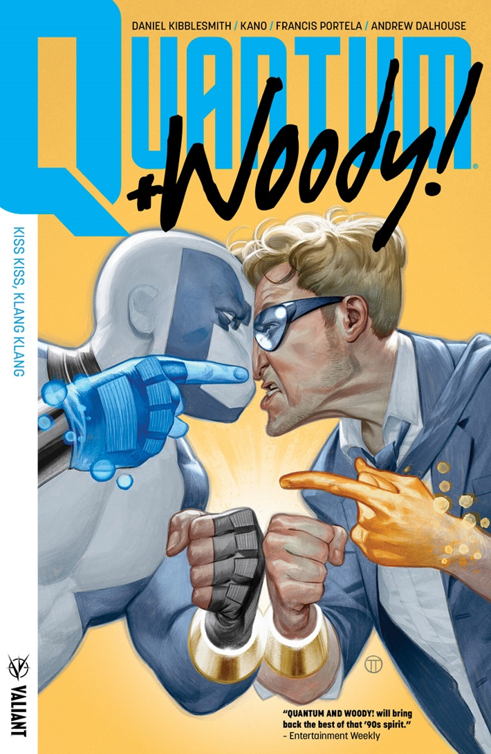 QW2017_TPB_001_COVER_KANO ComicList Previews: QUANTUM AND WOODY VOLUME 1 KISS KISS KLANG KLANG TP