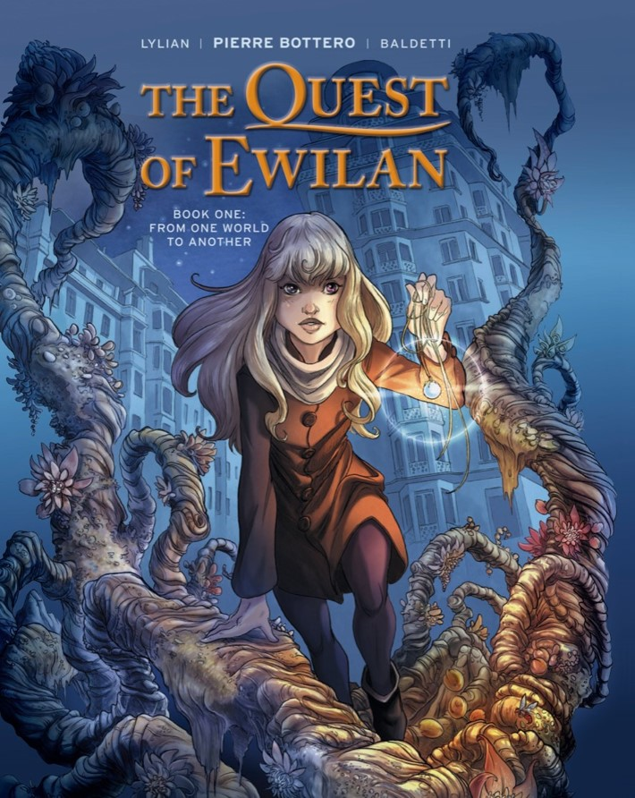 Quest_Of_Ewilan-pr-1 ComicList Previews: THE QUEST OF EWILAN VOLUME 1 FROM ONE WORLD TO ANOTHER HC