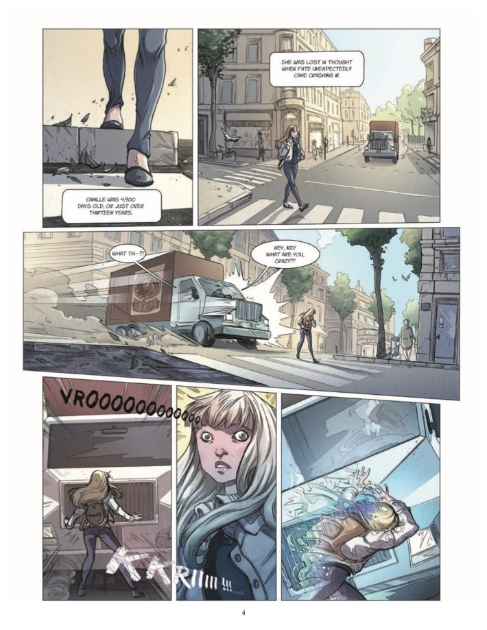 Quest_Of_Ewilan-pr-5 ComicList Previews: THE QUEST OF EWILAN VOLUME 1 FROM ONE WORLD TO ANOTHER HC