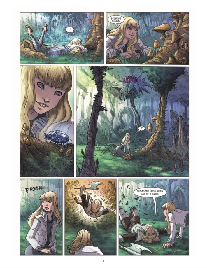 Quest_Of_Ewilan-pr-6 ComicList Previews: THE QUEST OF EWILAN VOLUME 1 FROM ONE WORLD TO ANOTHER HC
