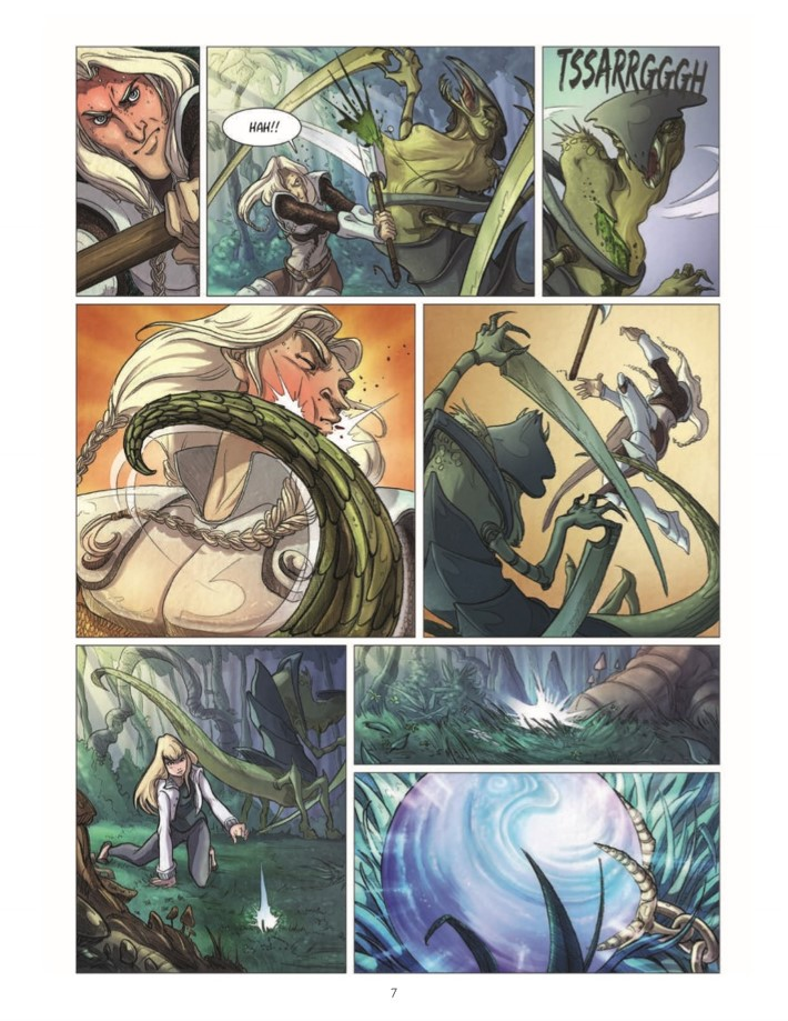 Quest_Of_Ewilan-pr-8 ComicList Previews: THE QUEST OF EWILAN VOLUME 1 FROM ONE WORLD TO ANOTHER HC