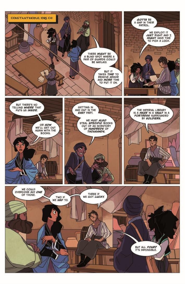 Real_Science_Adventure_Nicodemus_02-pr-3 ComicList Previews: REAL SCIENCE ADVENTURES THE NICODEMUS JOB #2