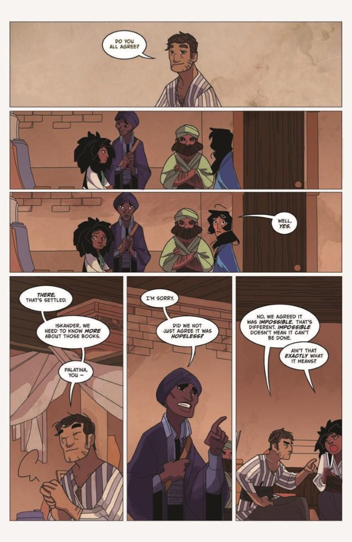 Real_Science_Adventure_Nicodemus_02-pr-4 ComicList Previews: REAL SCIENCE ADVENTURES THE NICODEMUS JOB #2