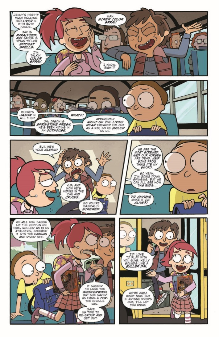 Rick_Morty_DnD_TPB-pr-5 ComicList Previews: RICK AND MORTY VS DUNGEONS AND DRAGONS TP