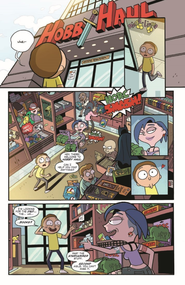 Rick_Morty_DnD_TPB-pr-8 ComicList Previews: RICK AND MORTY VS DUNGEONS AND DRAGONS TP
