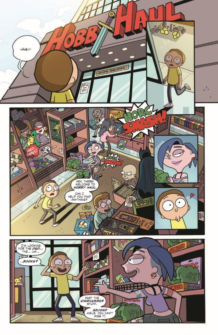 Rick_and_Morty_Dungeons_Dragons_01-pr-7 ComicList Previews: RICK AND MORTY VS DUNGEONS AND DRAGONS #1