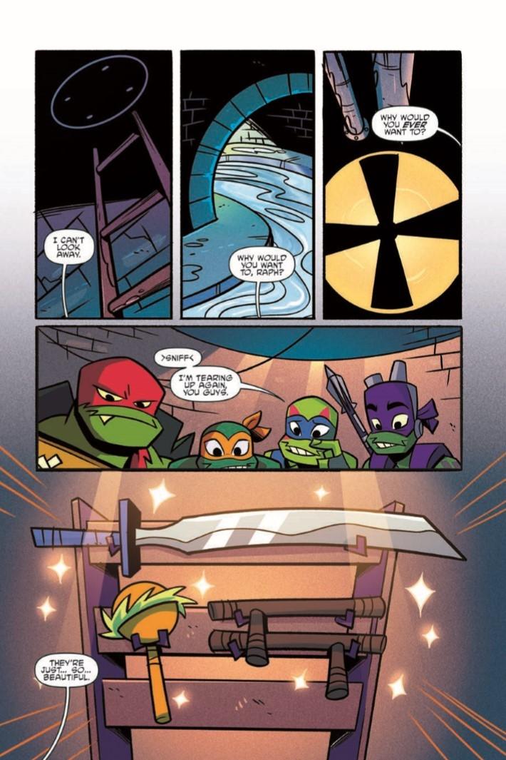 Rise_of_TMNT_Vol01-pr-5 ComicList Previews: RISE OF THE TEENAGE MUTANT NINJA TURTLES VOLUME 1 TP