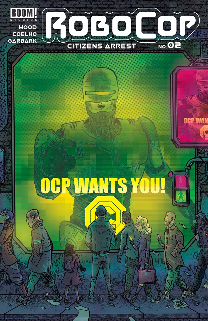RoboCop_CitizensArrest_002_B_Subscription ComicList Previews: ROBOCOP CITIZENS ARREST #2