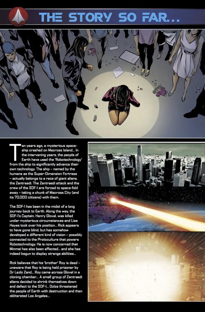 Robotech_19_StorySoFar ComicList Previews: ROBOTECH #19