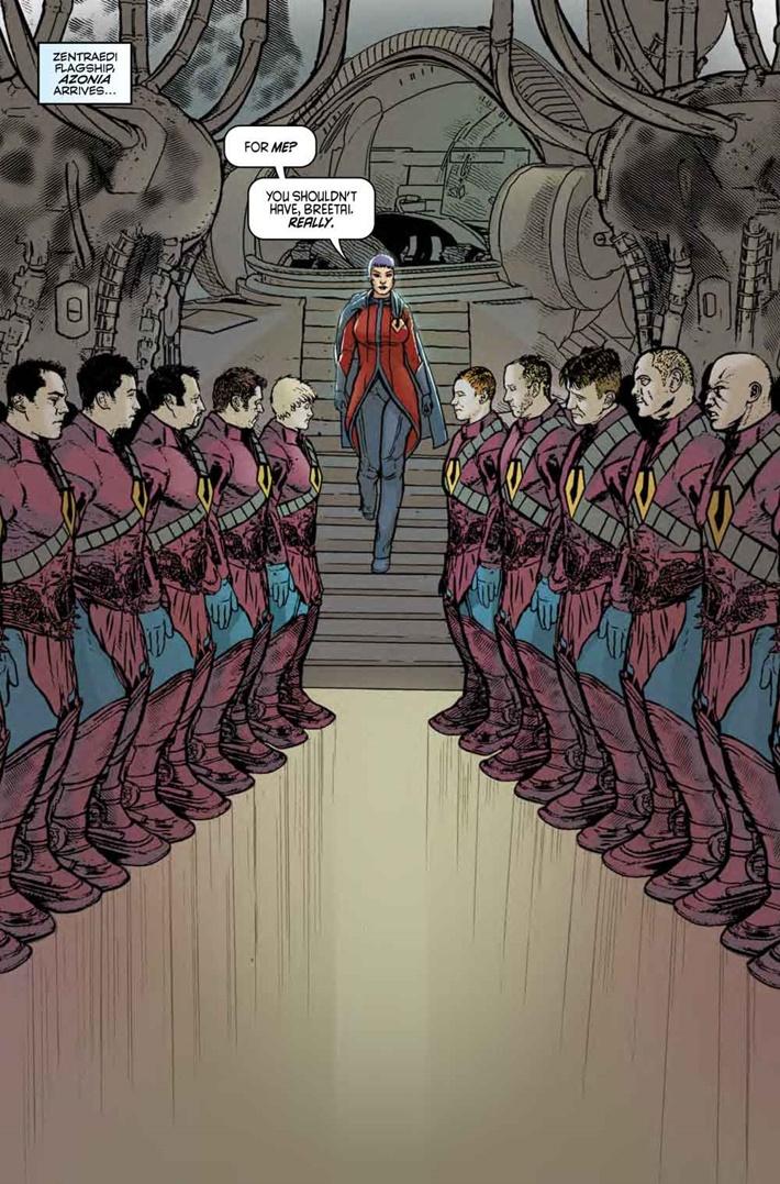 Robotech_9_Pg1 ComicList Previews: ROBOTECH #9