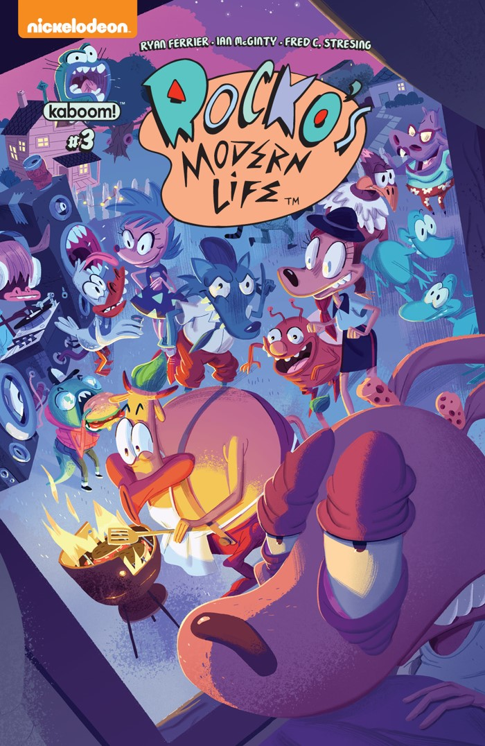 RockosModernLife_003_A_Main ComicList Previews: ROCKO'S MODERN LIFE #3