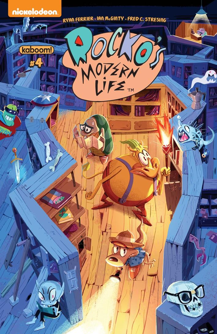 RockosModernLife_004_A_Main ComicList Previews: ROCKO'S MODERN LIFE #4