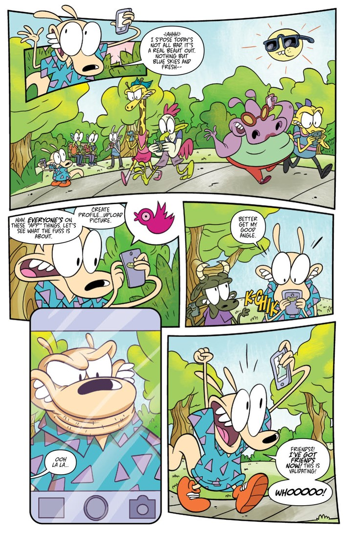 RockosModernLife_v2_SC_PRESS_9 ComicList Previews: ROCKO'S MODERN LIFE VOLUME 2 TP