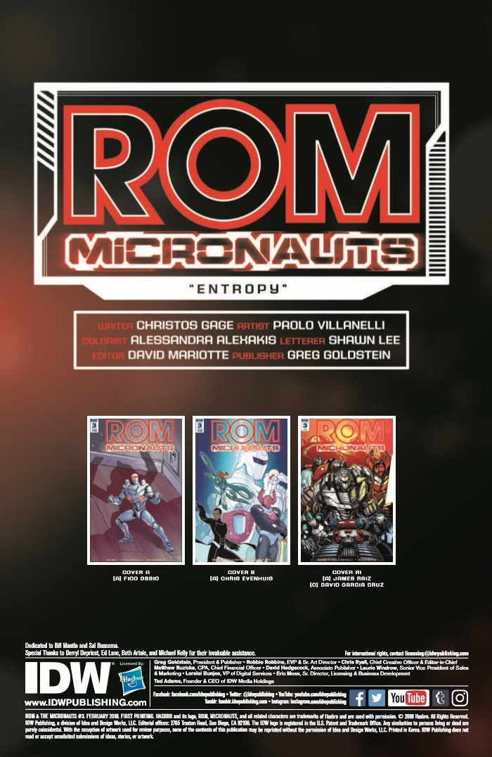 Rom_Micronauts_03-pr-2 ComicList Previews: ROM AND THE MICRONAUTS #3