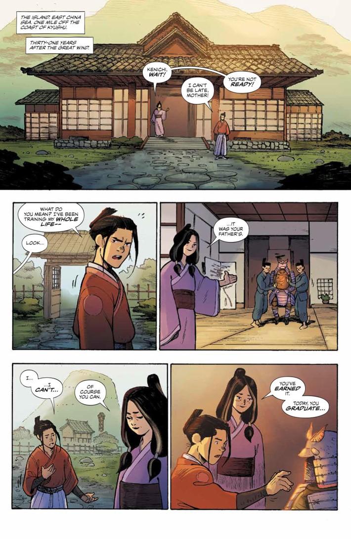 RoninIsland_001_PRESS_3 ComicList Previews: RONIN ISLAND #1