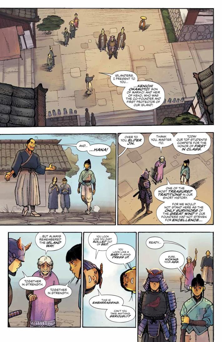 RoninIsland_001_PRESS_6 ComicList Previews: RONIN ISLAND #1