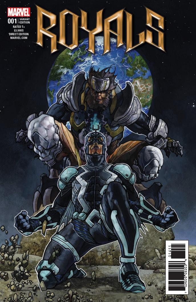 Royals_1_Bianchi_Variant ComicList Preview: ROYALS #1