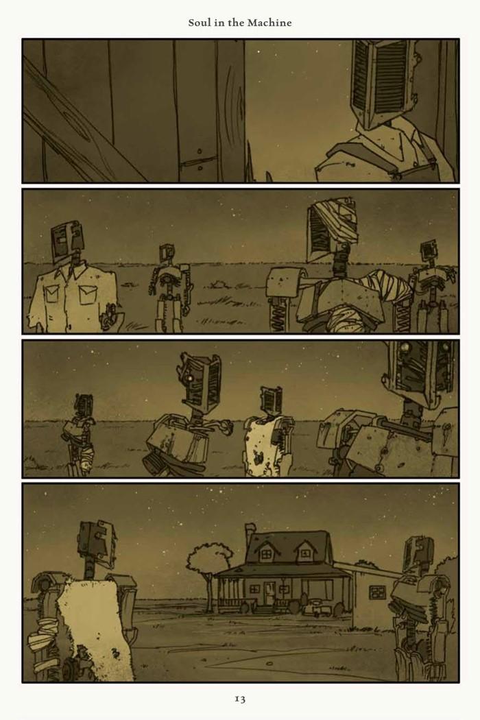 Rust_v4_SC_PRESS_15 ComicList Previews: RUST VOLUME 4 HC