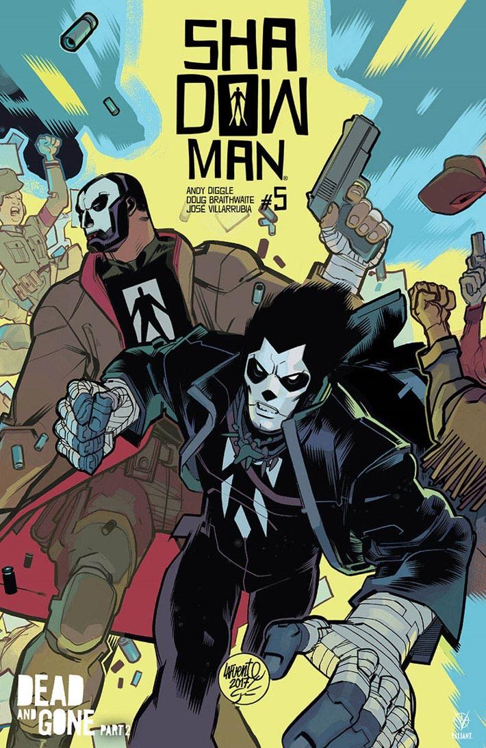 SM2018_005_VARIANT-INTERLOCKING_LAFUENTE ComicList Previews: SHADOWMAN (2018) #5