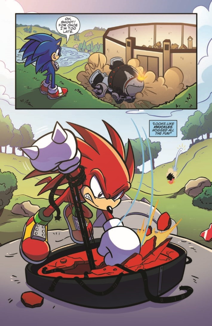 SONIC_03-pr-3 ComicList Previews: SONIC THE HEDGEHOG #3