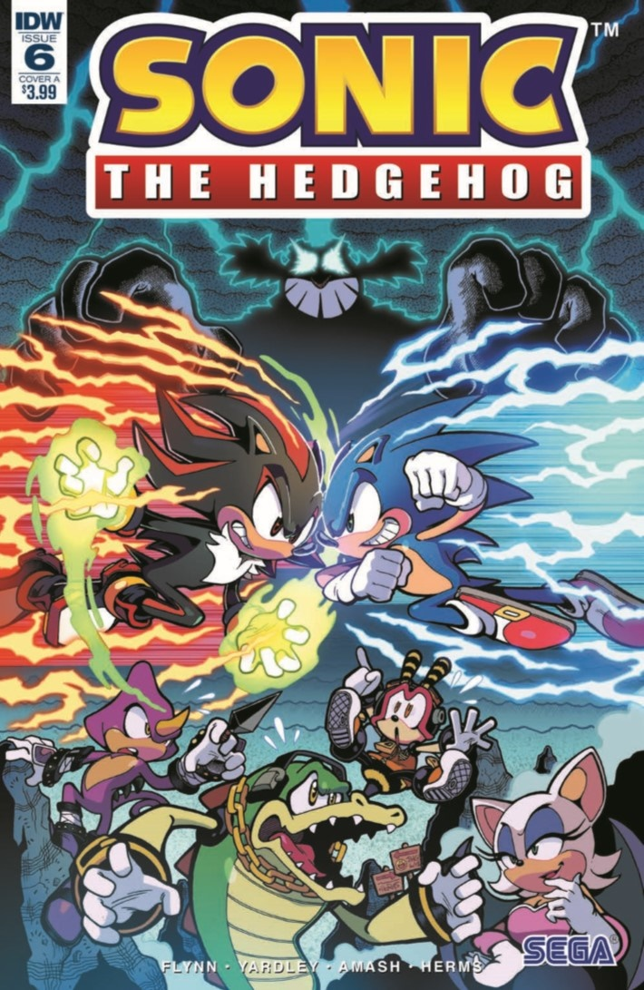 SONIC_06-pr-1 ComicList Previews: SONIC THE HEDGEHOG #6