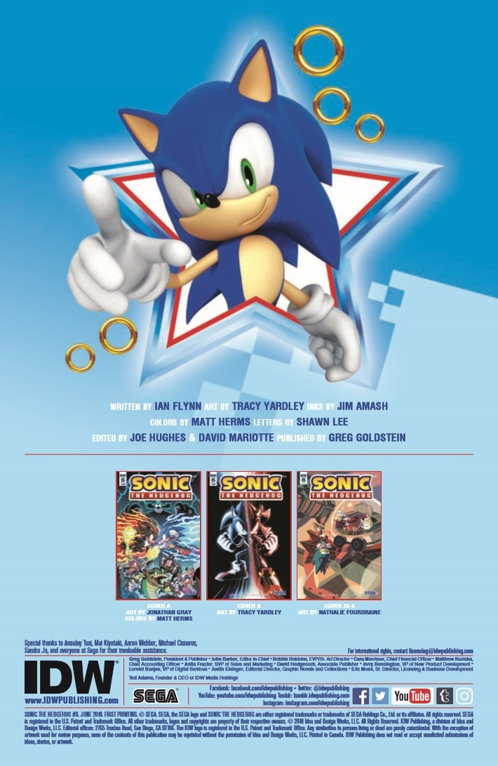 SONIC_06-pr-2 ComicList Previews: SONIC THE HEDGEHOG #6