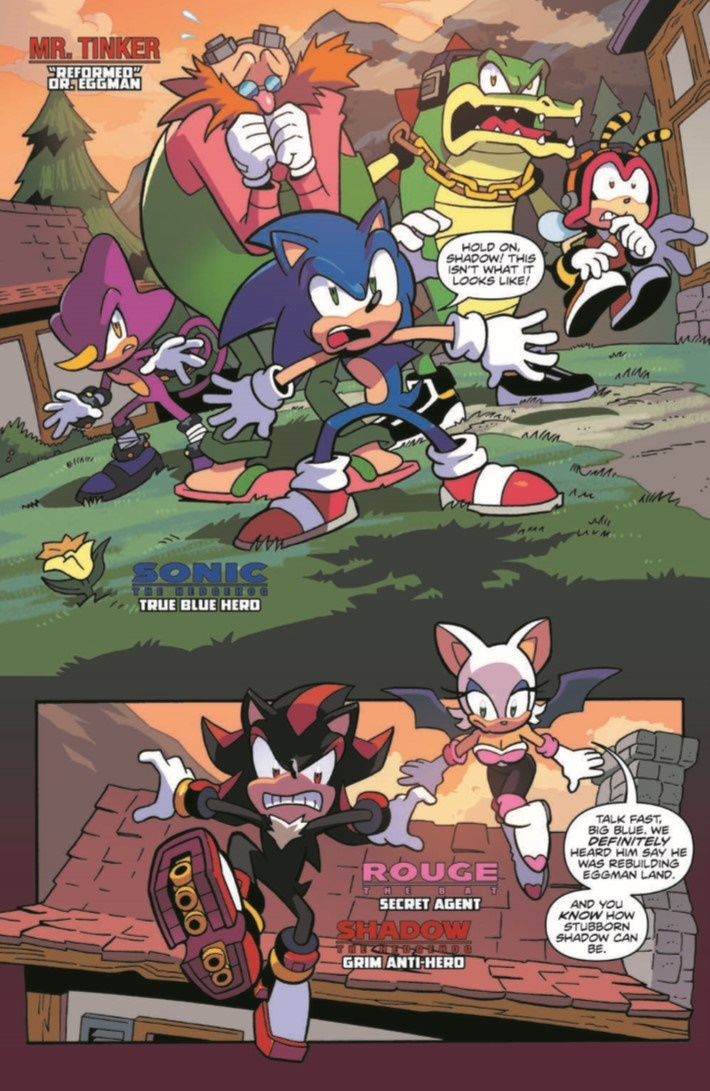 SONIC_06-pr-3 ComicList Previews: SONIC THE HEDGEHOG #6