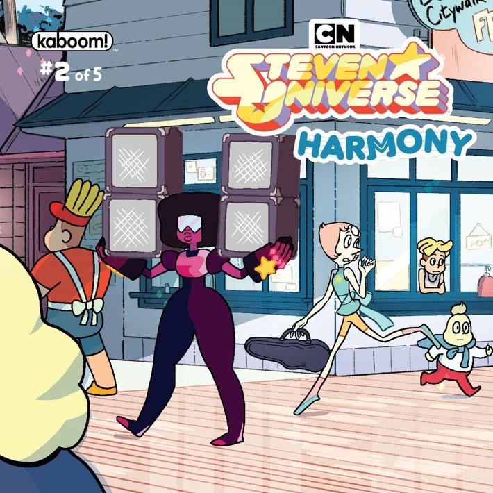 SU_Harmony_002_B_Subscription ComicList Previews: STEVEN UNIVERSE HARMONY #2