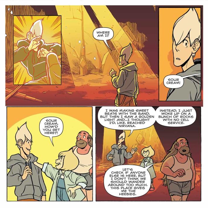 SU_Harmony_002_PRESS_3 ComicList Previews: STEVEN UNIVERSE HARMONY #2