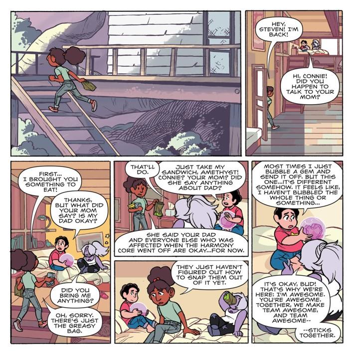 SU_Harmony_002_PRESS_4 ComicList Previews: STEVEN UNIVERSE HARMONY #2