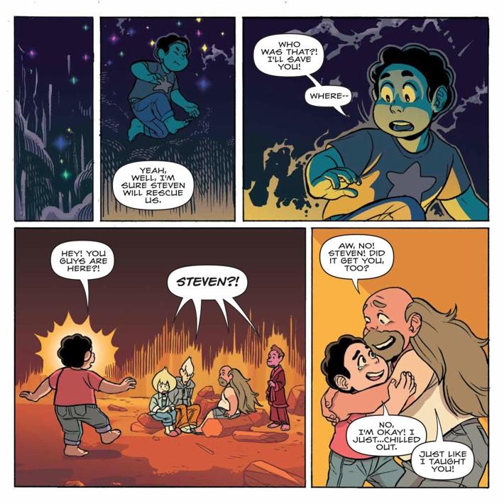 SU_Harmony_002_PRESS_7 ComicList Previews: STEVEN UNIVERSE HARMONY #2
