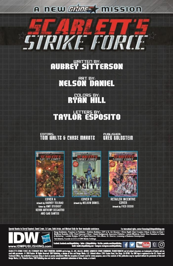 ScarlettStrikeForce_03-pr-2 ComicList Previews: SCARLETT'S STRIKE FORCE #3