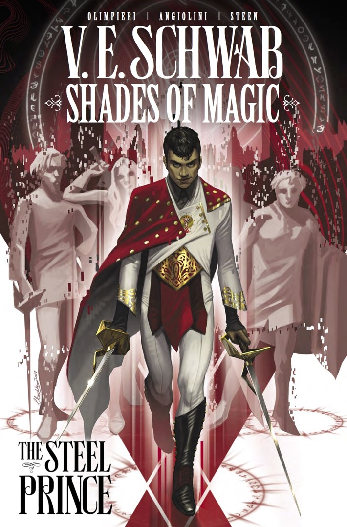 Shades_of_Magic_Vol1_The_Steel_Prince_Collection_Cover ComicList Previews: SHADES OF MAGIC VOLUME 1 THE STEEL PRINCE TP