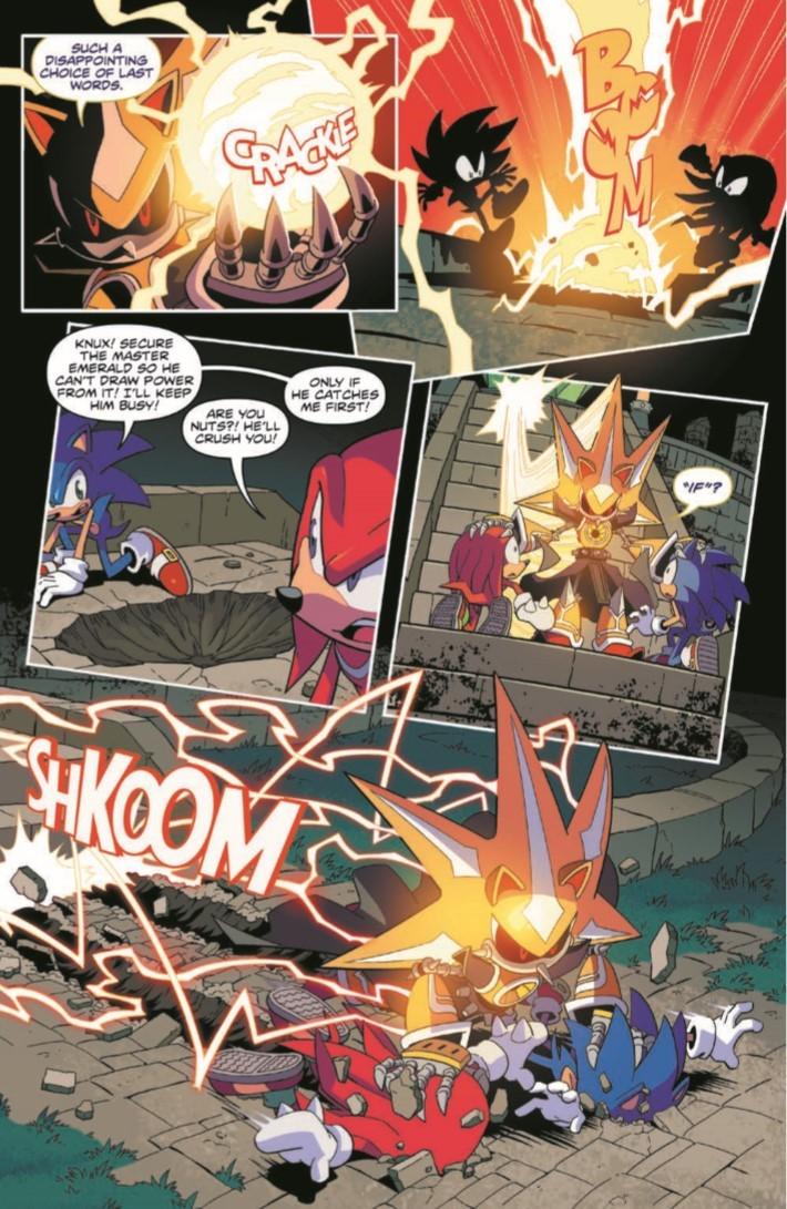 Sonic_10-pr-6 ComicList Previews: SONIC THE HEDGEHOG #10